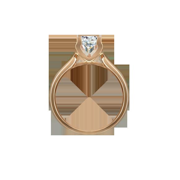 Leysen莱绅通灵 钻石戒指  款号:MQ11104RG