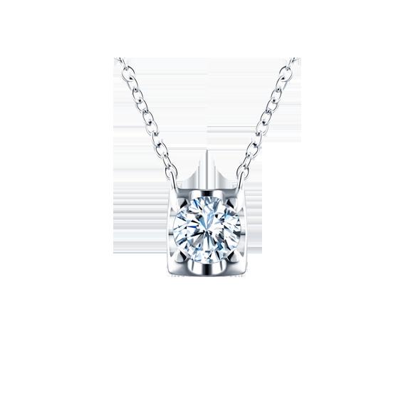 Leysen莱绅通灵 钻石吊坠  款号:MQ31604NW