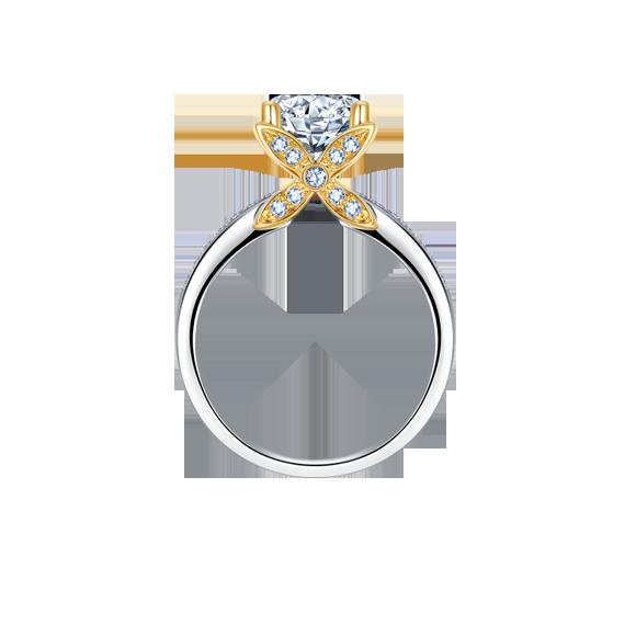 Leysen莱绅通灵 钻石戒指 款号:NW11801RG