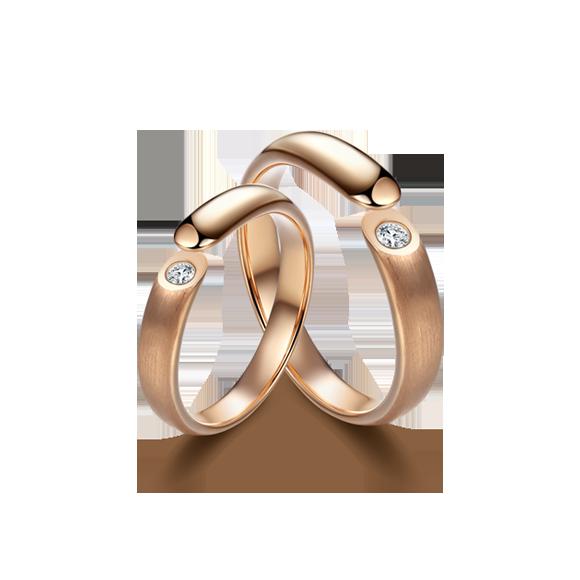 Leysen莱绅通灵 钻石对戒 款号:WE11505RG