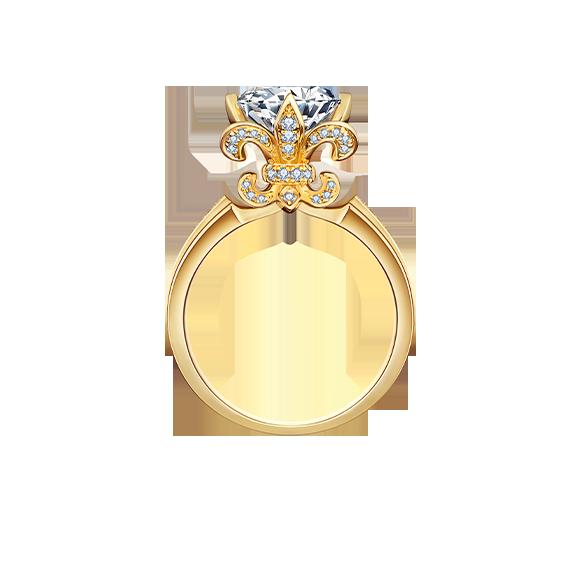 Leysen莱绅通灵钻石戒指款号:MQI11801RG