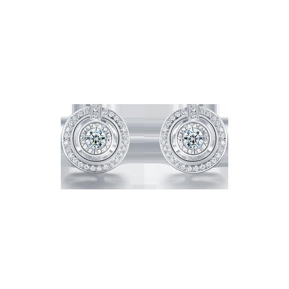 Leysen莱绅通灵钻石耳饰款号:BF+71802ER