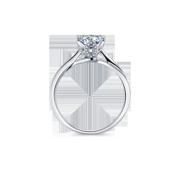 Leysen莱绅通灵 钻石戒指  款号:WGHL11801RG